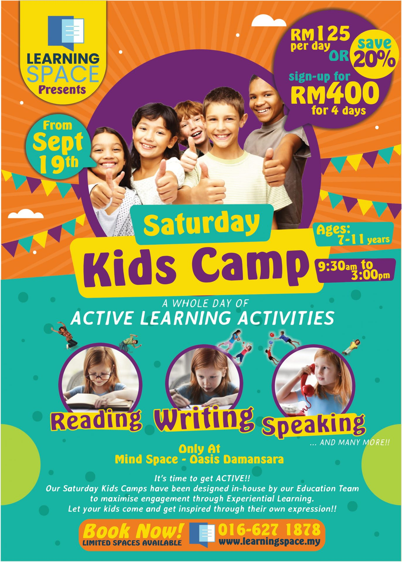 Saturday Kids Camp